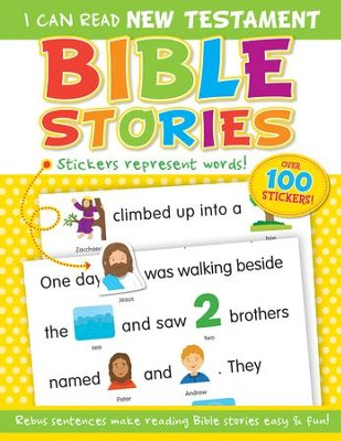 I Can Read New: Testament Bible Stories  -     By: Kim Mitzo Thompson & Karen Mitzo Hilderbrand