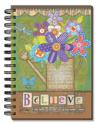 Believe, Flowers Journal  -     By: Annie Lapoint
