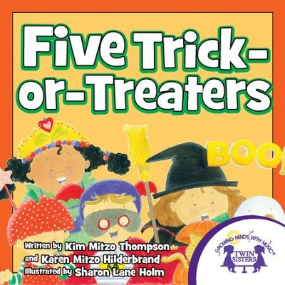 Five Trick-or-Treaters - PDF Download  [Download] -     By: Kim Mitzo Thompson, Karen Mitzo Hilderbrand     Illustrated By: Sharon Lane Holm