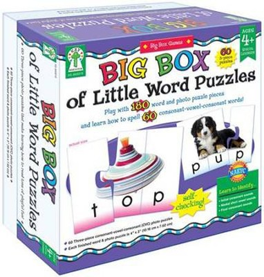 Key Education: Big Box of Little Word Puzzles   -