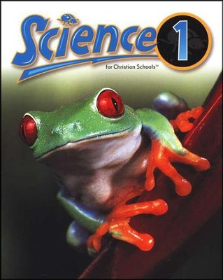 BJU Science Grade 1 Student Text, Updated Second Edition  Softcover  -