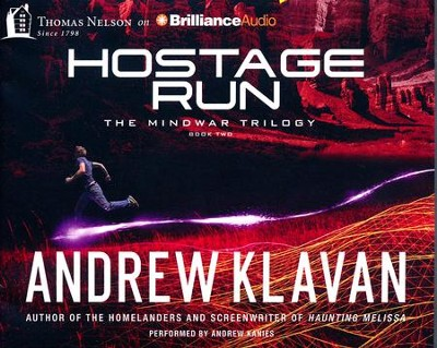 Hostage Run - unabridged audiobook on CD  -     By: Andrew Klavan