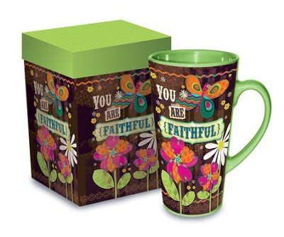 You Are Faithful Mug  -