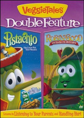 Robin Good/Pistachio, Double Feature DVD   -     By: VeggieTales