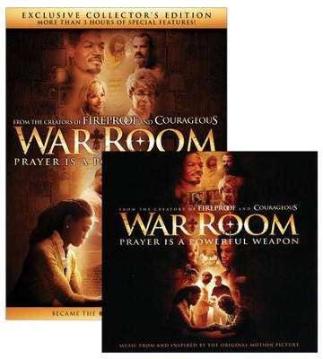 War Room, Exclusive Collector's Edition DVD + Soundtrack CD   -