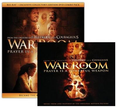 War Room, Blu-ray + Exclusive Collector's Edition DVD +  Soundtrack CD  -