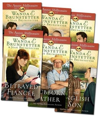 The Amish Millionaire Series, Volumes 1-6  -     By: Wanda E. Brunstetter, Jean Brunstetter