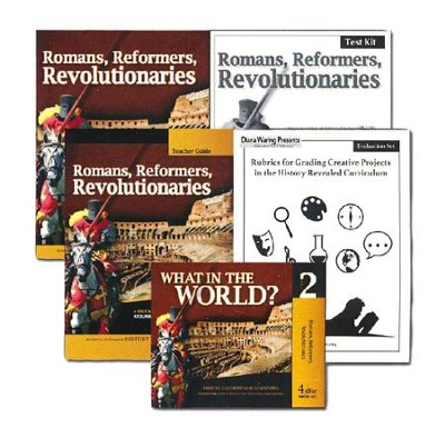 History Revealed: Romans, Reformers, Revolutionaries  Essentials Pack  -     By: Diana Waring