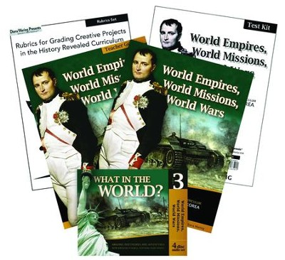 History Revealed: World Empires, World Missions, World Wars  Essentials Pack  -     By: Diana Waring
