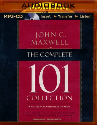 The Complete 101 Collection: What Every Leader Needs to Know - unabridged audiobook on MP3-CD  -     By: John Maxwell