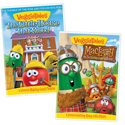 Good Choices & Getting Along With Others Bundle (Little House that Stood/MacLarry & the Stinky Cheese)  -     By: VeggieTales