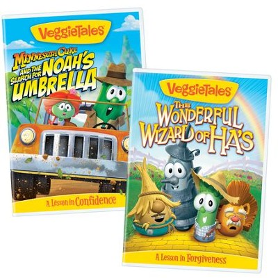 Confidence & Appreciation Bundle (Wonderful Wizard of Ha's/Minnesota Cuke & the Search for Noah's Umbrella)  -     By: VeggieTales