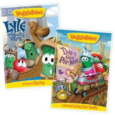 Sharing & Family Bundle (Duke and the Great Pie War/Lyle, The Kindly Viking)  -     By: VeggieTales
