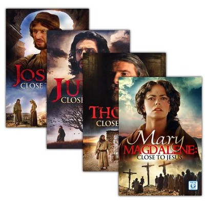 Close to Jesus Series, 4 DVDs   -