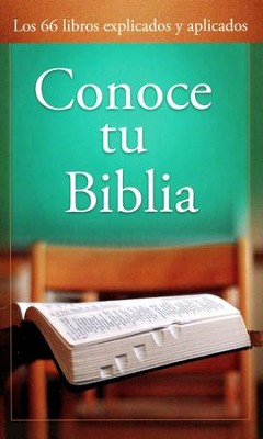 Conoce tu Biblia  (Know Your Bible)  -     By: Paul Kent