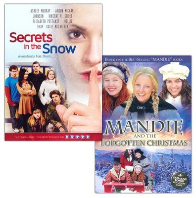 Mandie & the Forgotten Christmas + Secrets in the Snow, Combo Pack  -