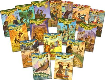 The Imagination Station Series, Volumes 1-19  -