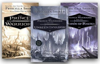The Prince Warriors Series, Volumes 1-3  -     By: Priscilla Shirer