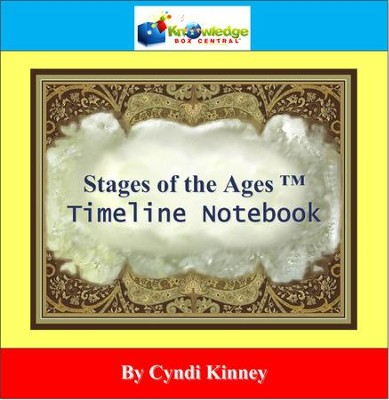 Stages of the Ages Timeline Notebook 5000 BC to Present - PDF Download  [Download] -     By: Cyndi Kinney