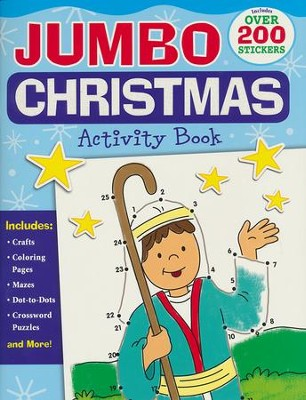 Jumbo Christmas Activity Book  -     By: Karen Mitzo Hilderbrand, Kim Mitzo Thompson