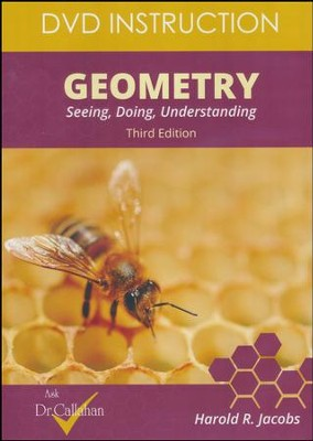 Harold Jacobs' Geometry 3rd Edition DVD Instruction     -     By: Dr. Dale Callahan