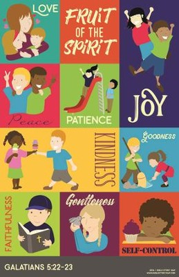 Fruit of the Spirit Wall Chart   -