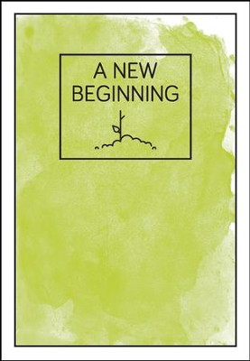 A New Beginning green plant - pamphlet - pack of 10   -