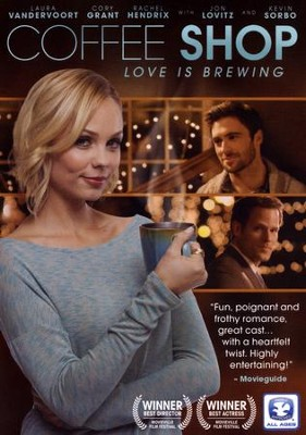 Coffee Shop: Love Is Brewing, DVD    -