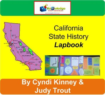 California State History Lapbook - PDF Download  [Download] -     By: Cyndi Kinney, Judy Trout
