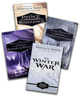 The Prince Warriors Series, Volumes 1-4  -