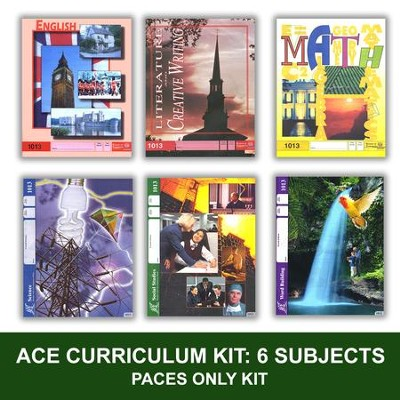 ACE PACEs Grade 2 6-Subject Curriculum Kit     -