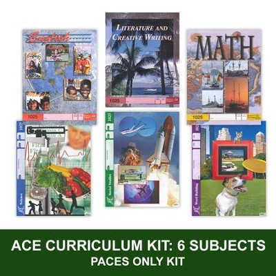 ACE PACEs Grade 3 6-Subject Curriculum Kit     -