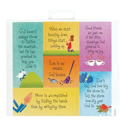 God Blesses Magnets, Sheet of 6  -