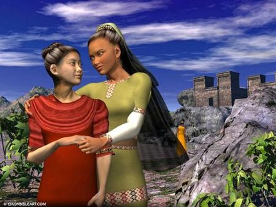 Ruth and Naomi  [Download] -     By: Eikon Bible Art