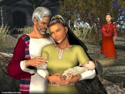 Ruth and Boaz  [Download] -     By: Eikon Bible Art