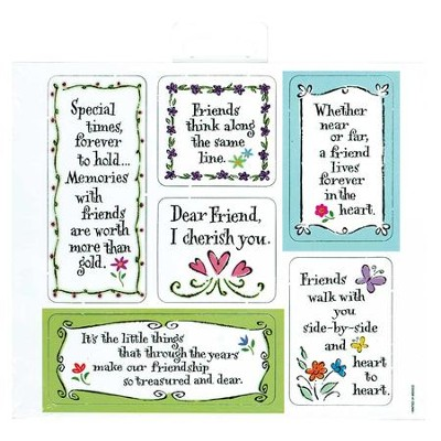 Special Times Magnets, Sheet of 6  -