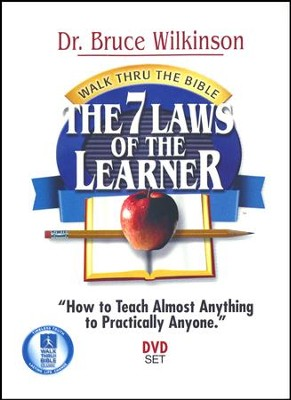 The 7 Laws Of The Learner, DVD Set  -     By: Dr. Bruce H. Wilkinson
