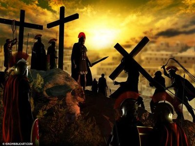 The Crucifixion  [Download] -     By: Eikon Bible Art