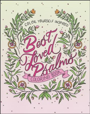 Best Loved Psalms Coloring Book:  -