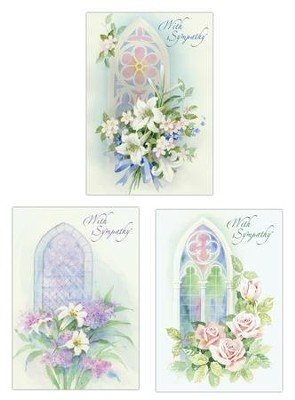 The Lord is My Shepherd Sympathy Cards, Box of 12    -