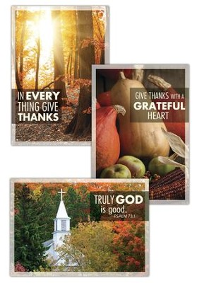 Thanksgiving Blessings, Greeting Cards, Box of 12   -