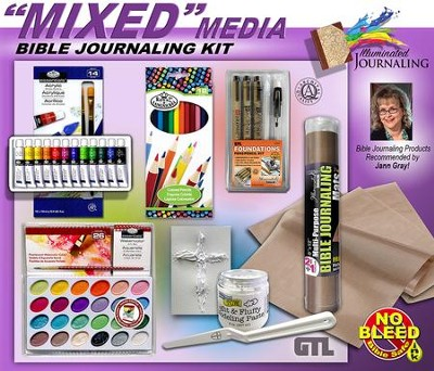 Mixed Media Bible Journaling Kit  -