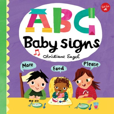 ABC Baby Signs: Learn baby sign language while you practice your ABCs!  -