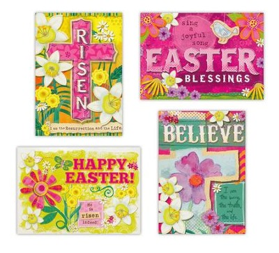 Risen, Easter Cards, Box of 12  -