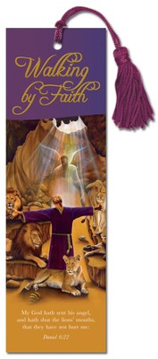 Walking By Faith, Daniel, Bookmark  -