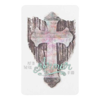 Put on the Full Armor of God Bookmark  -