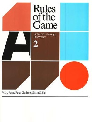 Rules Of The Game, Book #2   -     By: Mary Page