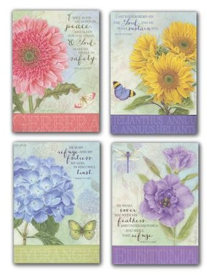 Cheery Thoughts, Get Well Cards, Box of 12 (NKJV)   -