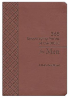365 Encouraging Verses of the Bible for Men: A Daily Devotional  -     By: Compiled by Barbour Staff