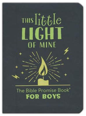 This Little Light of Mine: The Bible Promise Book for Boys  -     By: Compiled by Barbour Staff